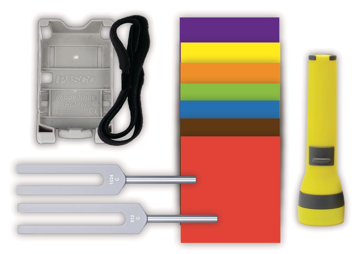 Coding with Sound & Light Sensor Technologies Kit (w/o codeNode)