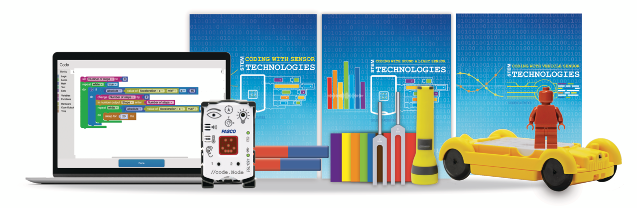 Complete Coding with Sensor Technologies Kit