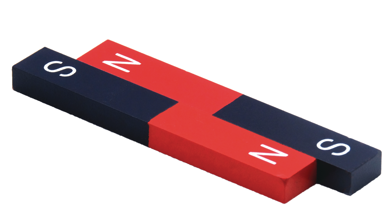 Painted Bar Magnet (Pair)