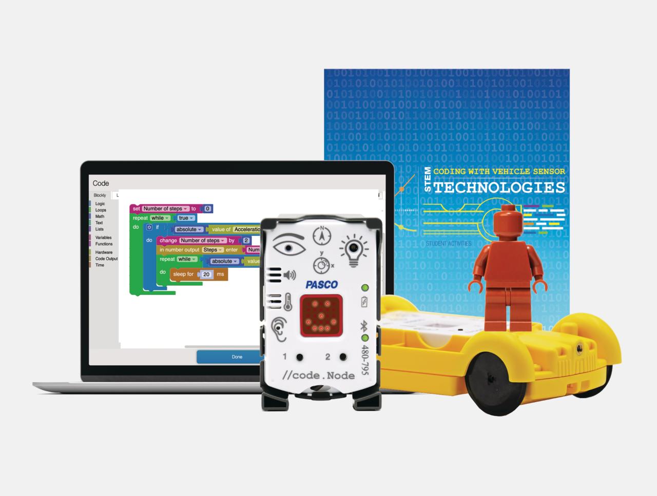 Coding with Vehicle Sensor Technologies Kit