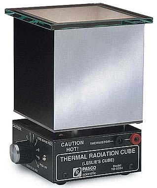 Thermal Radiation Cube (Leslie's Cube)