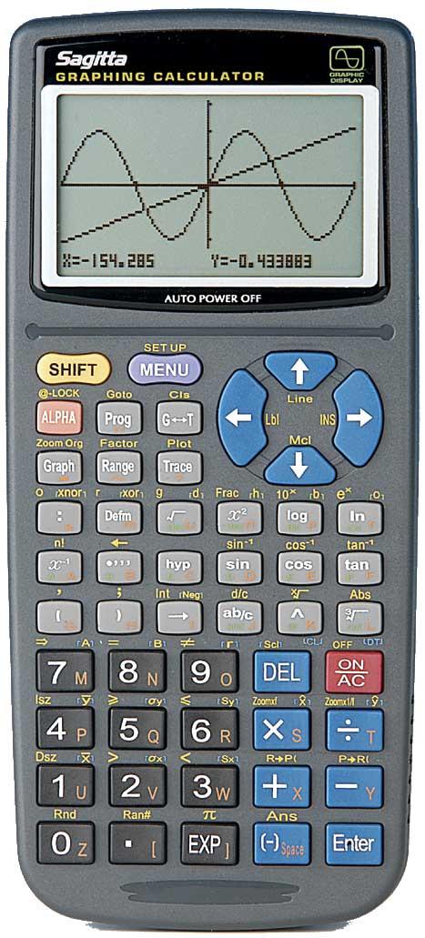 Grafräknare Sagitta