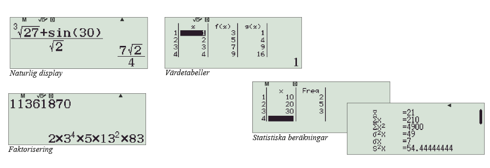Funktionsräknare Casio FX-82EX