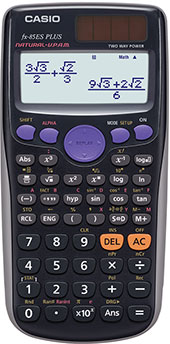 Funktionsräknare Casio FX-85ES PLUS