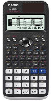 Funktionsräknare Casio FX-991EX KAMPANJ