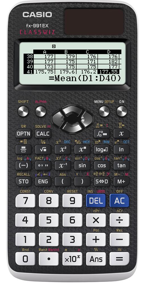 Funktionsräknare Casio FX-991EX
