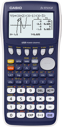 Grafräknare Casio FX-9750GII KAMPANJ