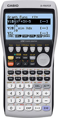 Grafräknare Casio FX-9860GII
