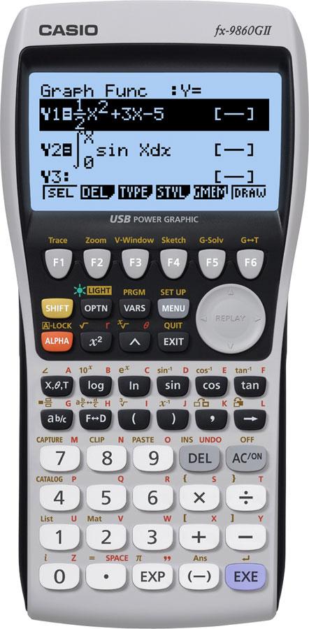 Grafräknare Casio FX-9860GII KAMPANJ