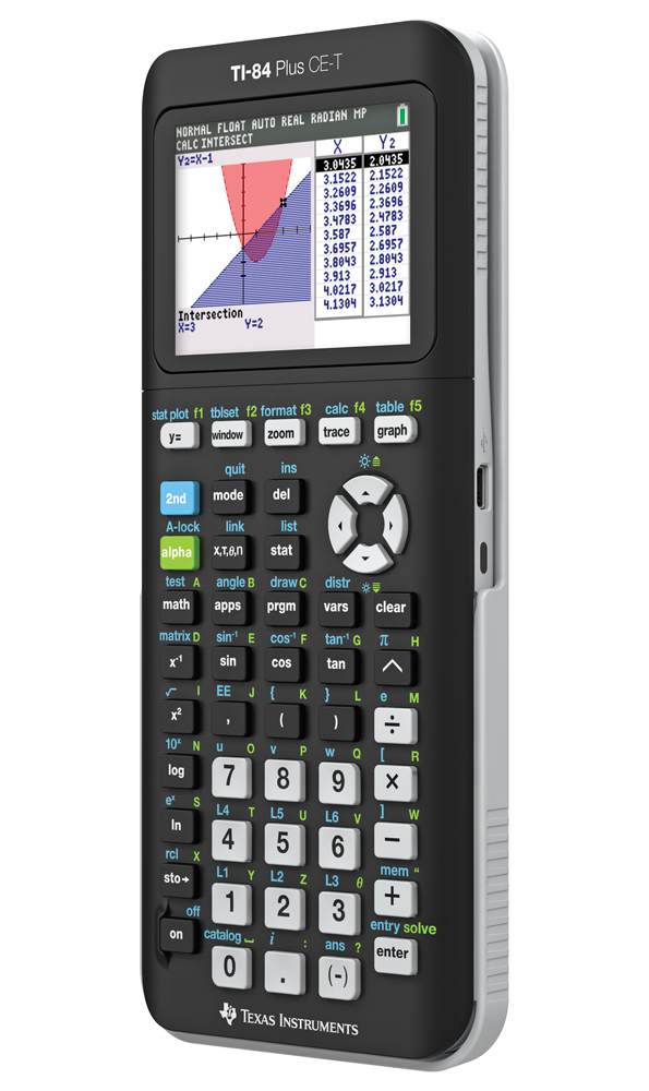 Grafräknare Texas TI-84 Plus CE-T
