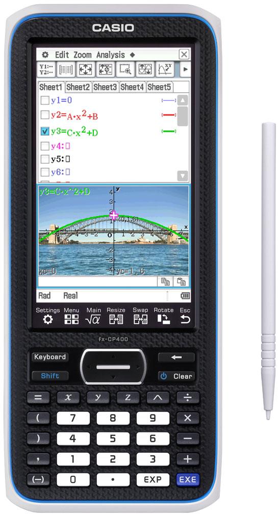 Grafräknare Casio ClassPad II FX-CP400