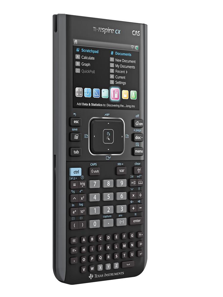 Grafräknare Texas TI-Nspire CX CAS + TI-Nspire CX CAS programvara