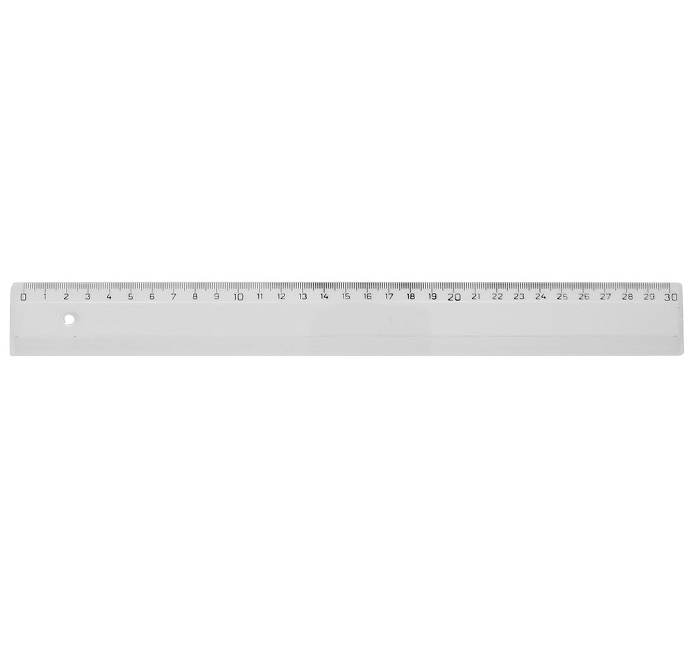 Linjal 30cm, fp 50 st