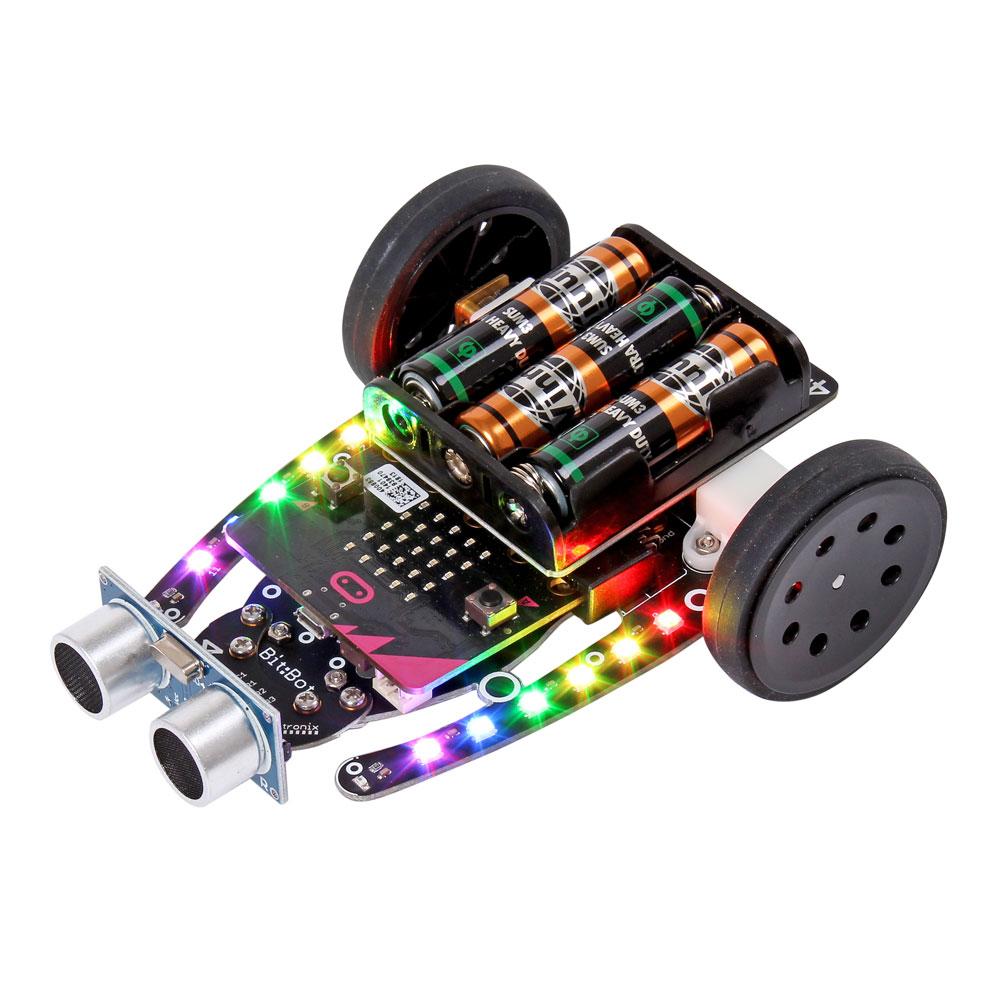 Ultraljudssensor för Bit:Bot