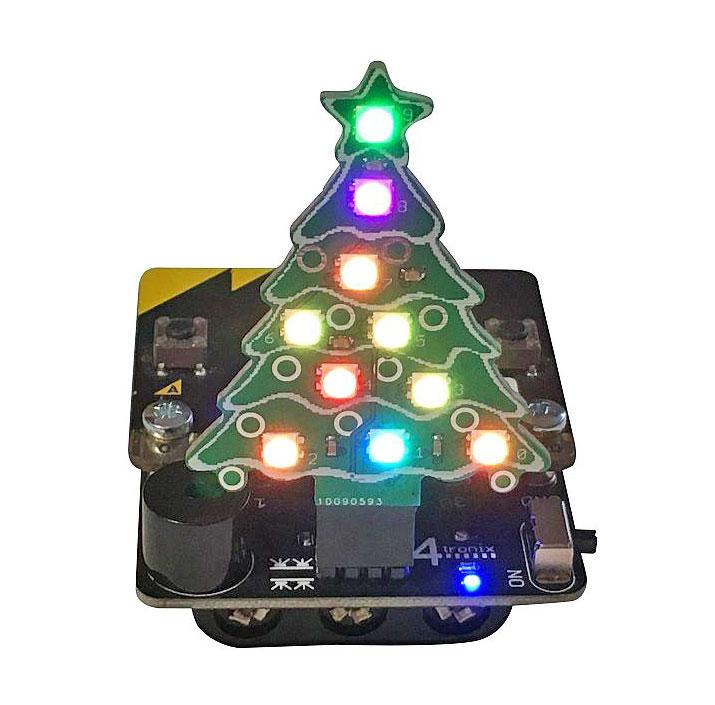 Base:Bit för micro:bit julgran