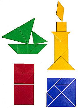 Tangram 16 pussel