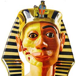 Lermodell Tutankhamon FYND