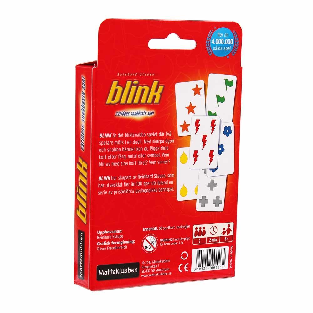 Blink - världens snabbaste kortspel