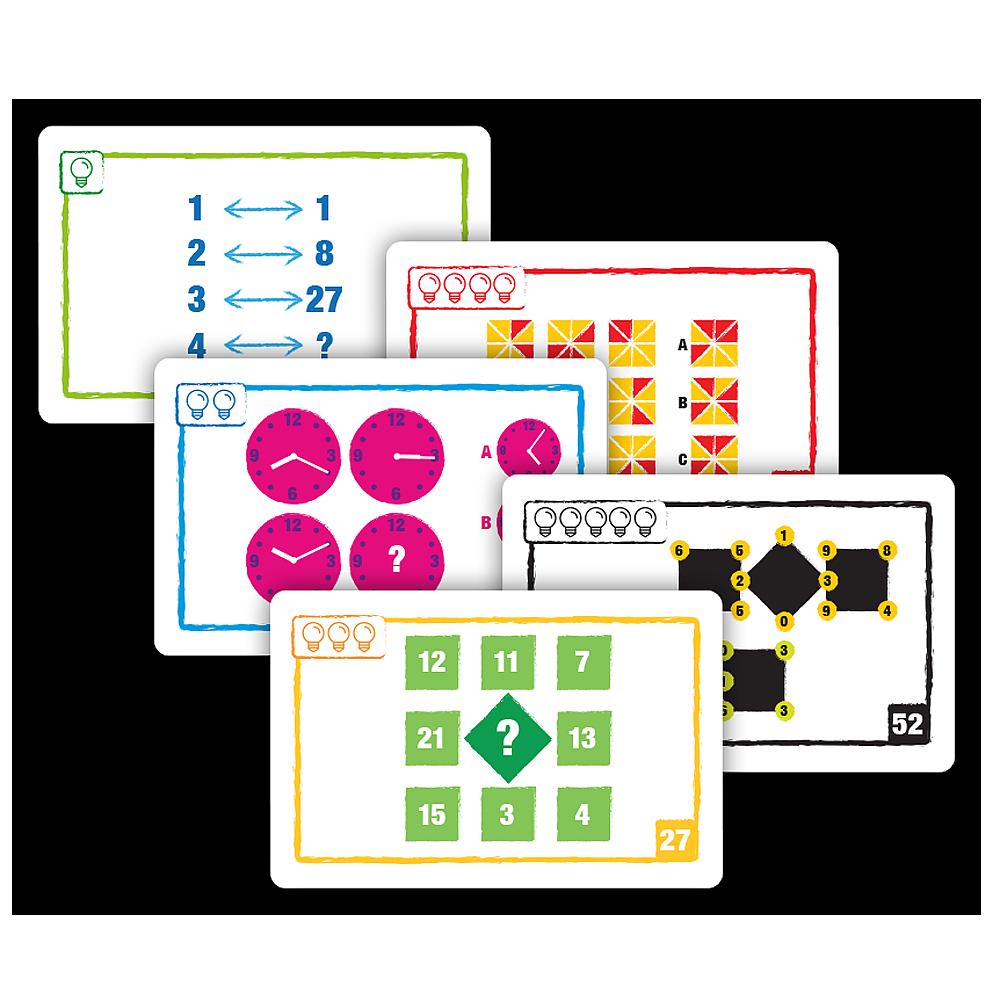 Kortspel - Logic Cards Gul