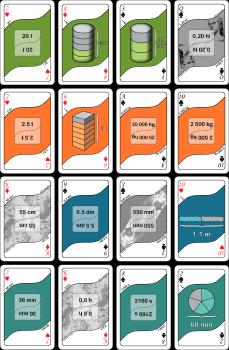 Kortspel - Enhetsomvandling getSmart