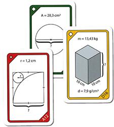 Kortspel - Geometri
