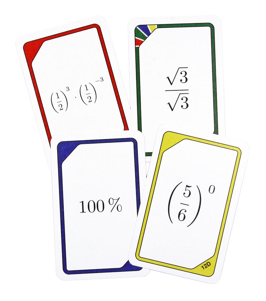 Kortspel - Tal i olika former