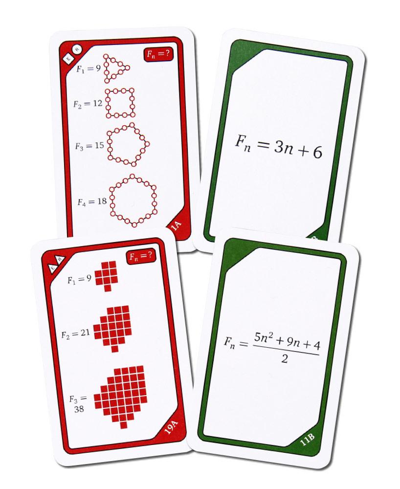 Kortspel - Talföljd formler 2