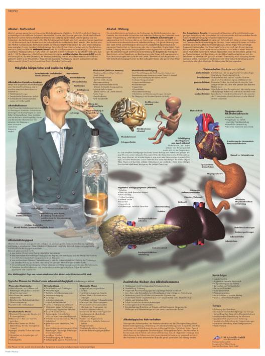Plansch Alkohol laminerad