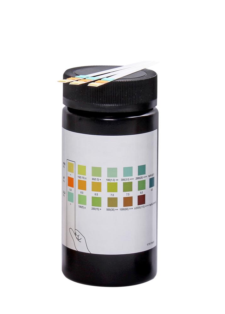 Teststicka Protein/pH/Glukos