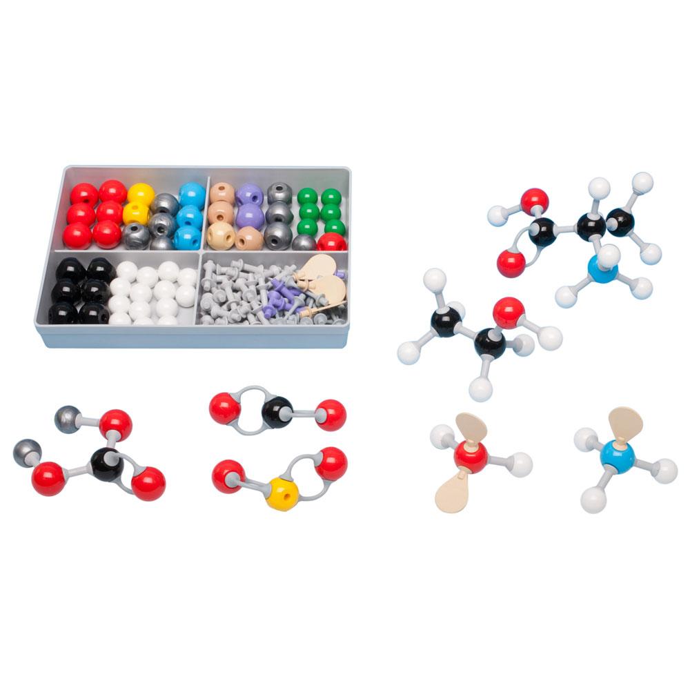 Molekylmodellsats MMS-009 Oorganisk