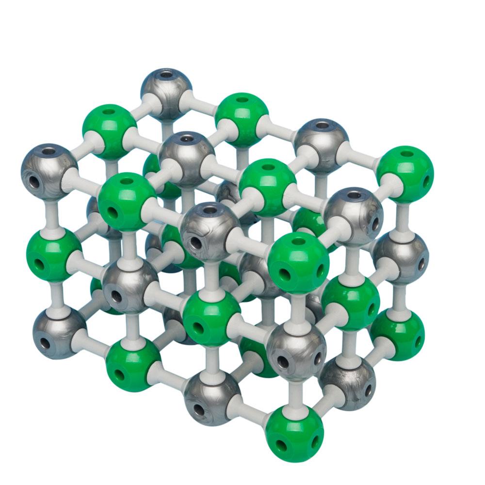 Molekylmodellsats Natriumklorid