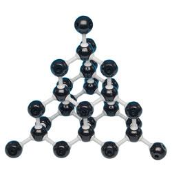 Molekylmodellsats Diamant