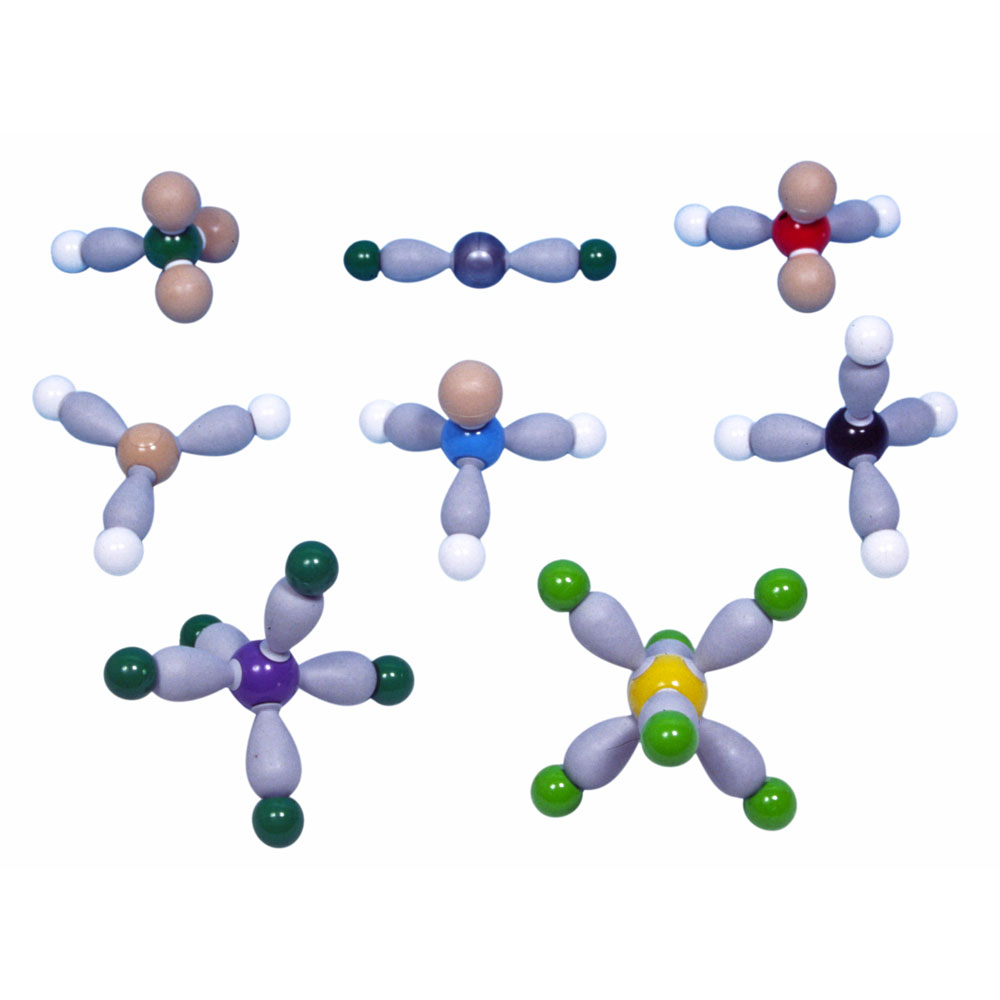 Molekylmodell elektronrepulsion