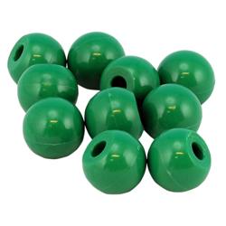 Halogenatom grön Molymod, fp 10 st