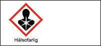 Varningsetikett - Hälsofarlig 3x24 st