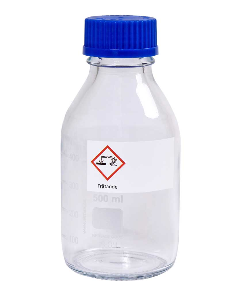 Varningsetikett - Giftig 100 st