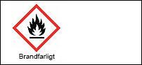Varningsetikett - Brandfarligt 3x24 st