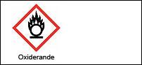 Varningsetikett - Oxiderande 100 st
