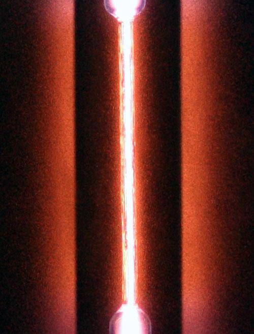 Spektralrör Helium 26cm (He)