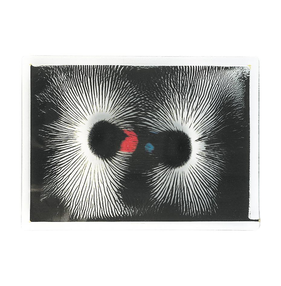 Magnetfältsplatta med magneter