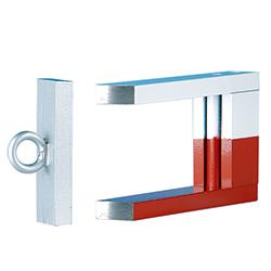 Magnet U-formad med ankare
