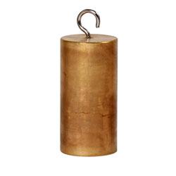 Cylinder med krok mässing