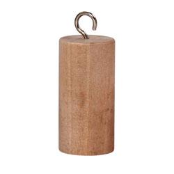 Cylinder med krok trä