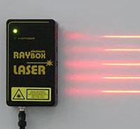 Laserbox för tavla, röd