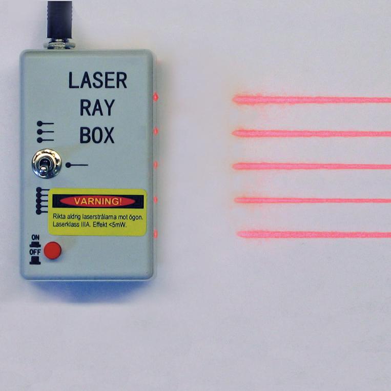 Laserbox till bordsoptik inkl. nätadapter