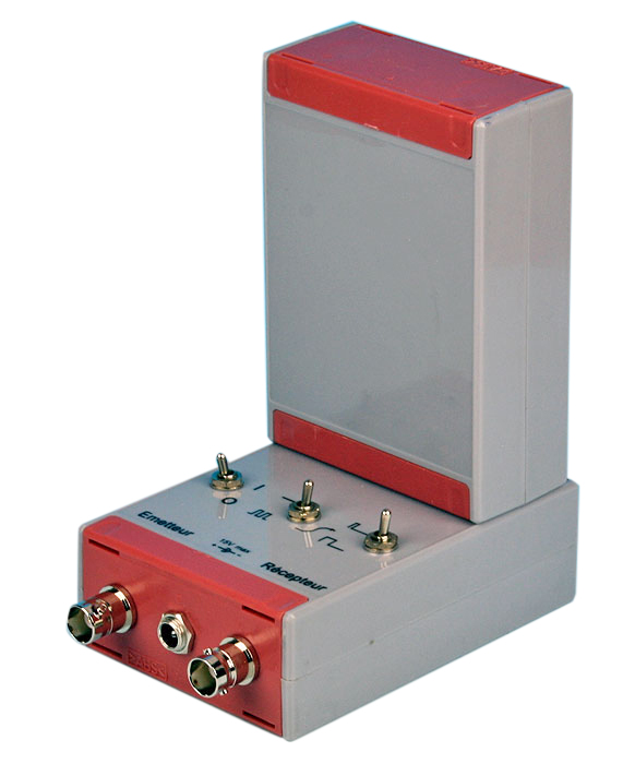 Ultraljud sändare/mottagare