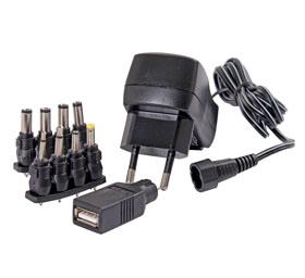 Nätadapter universal 3-12 V/600 mA