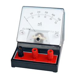 Amperemeter analog, 50 / 500 mA, FYND