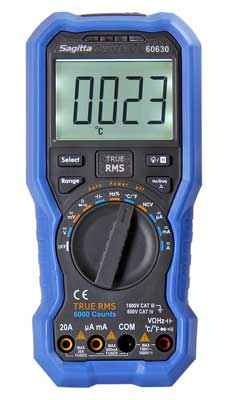 Multimeter automatisk