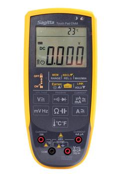 Multimeter auto med touchknappar FYND